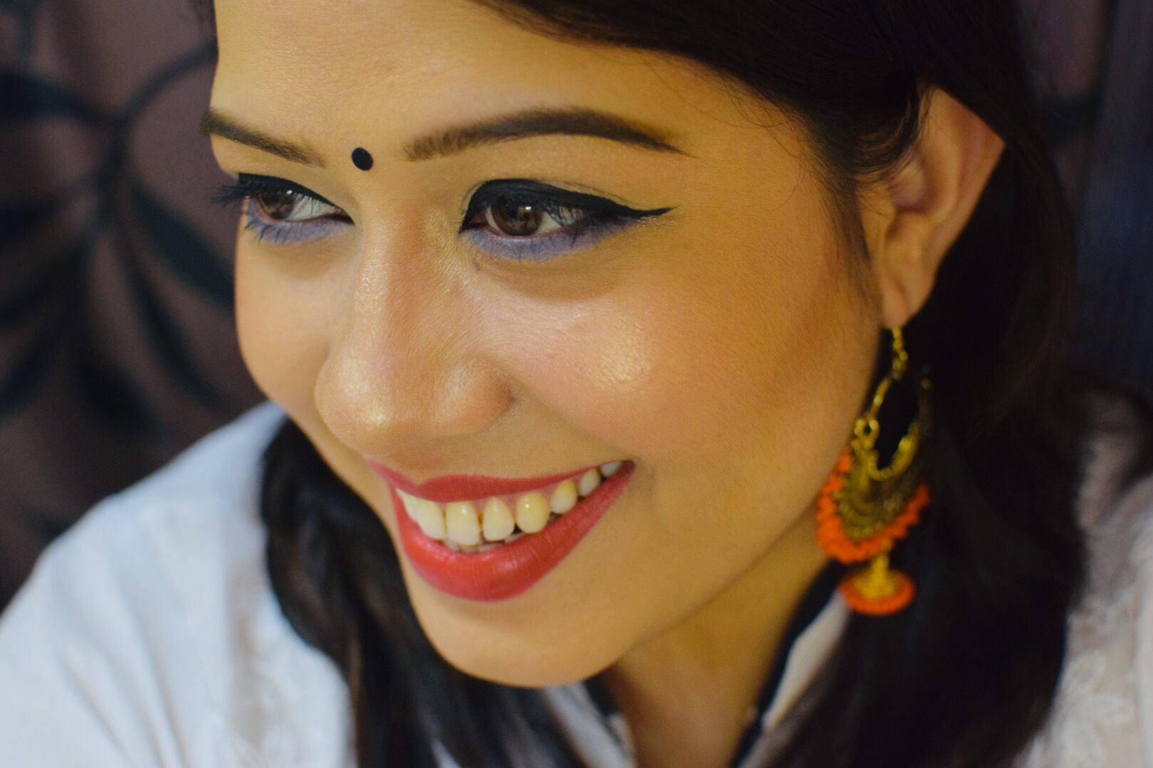 Holi MAKEUP LOOK