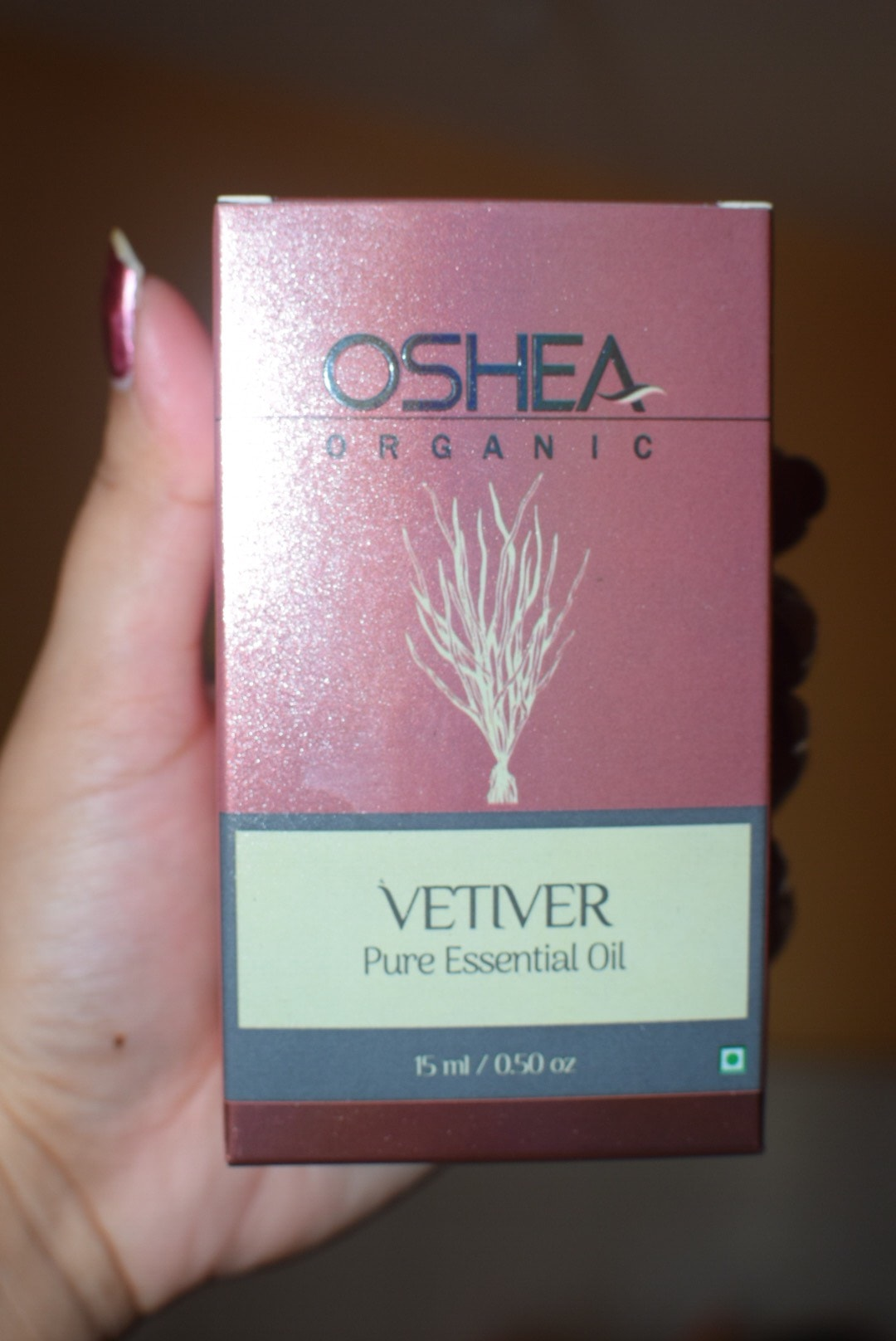 Oshea Herbals Pure Vetiver Essential Oil Review
