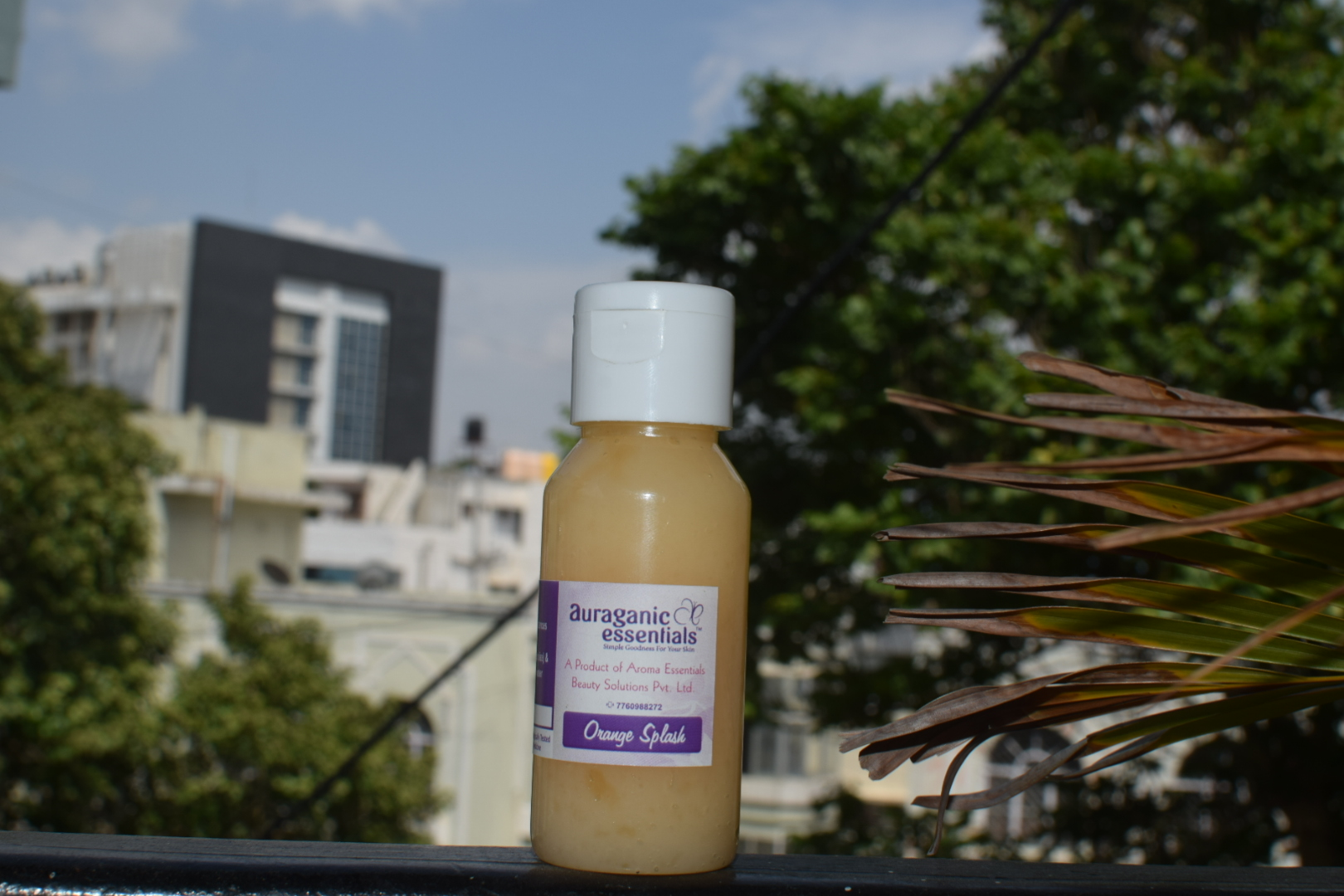 Aroma Essentials Orange Splash Face Wash Review