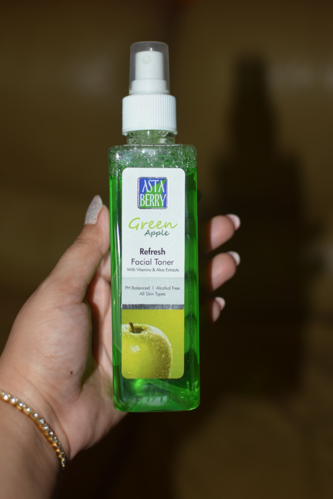 Astaberry Green Apple Toner Review! How to use a toner?