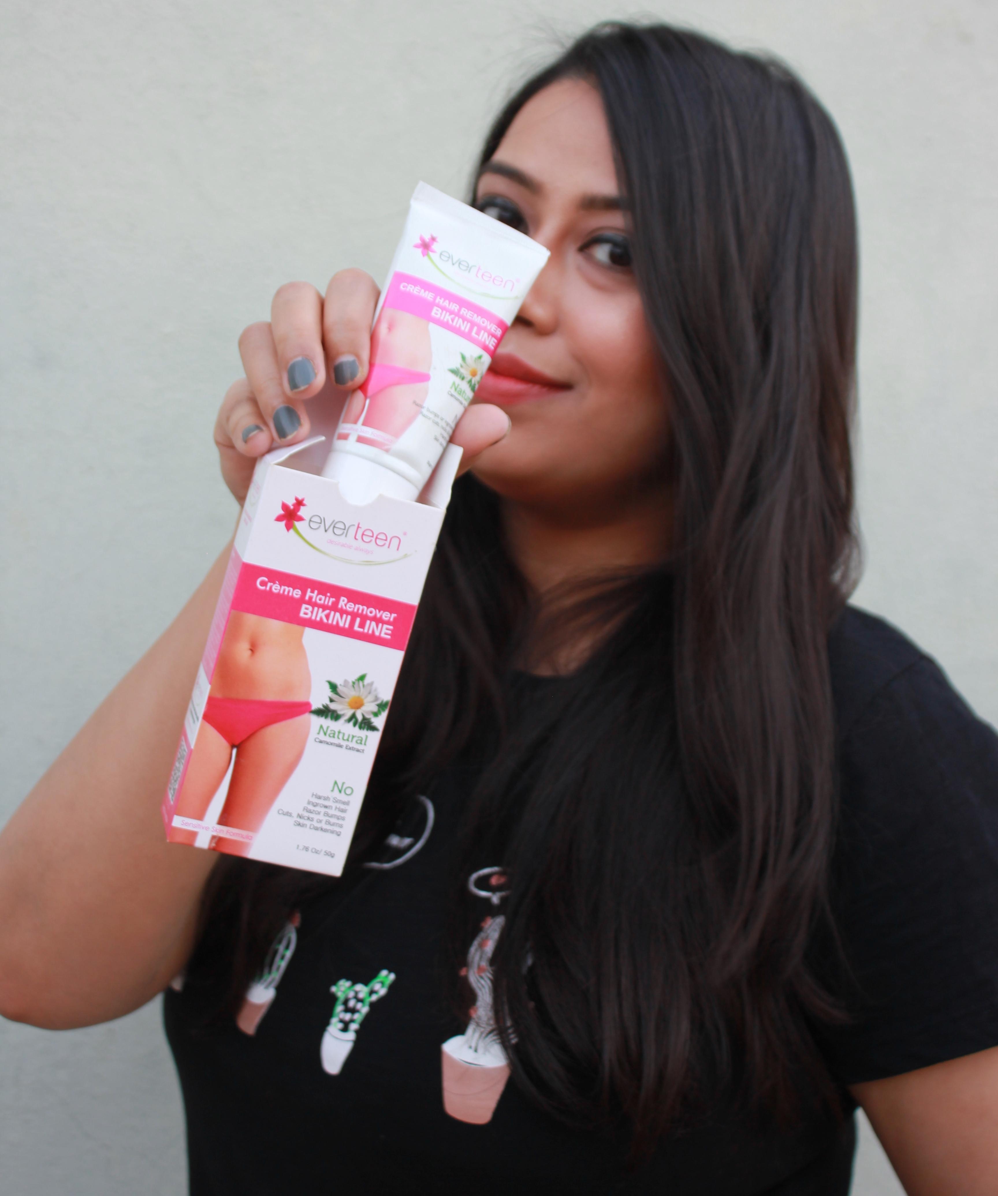 Everteen Bikini Line Hair Removal Cream Review