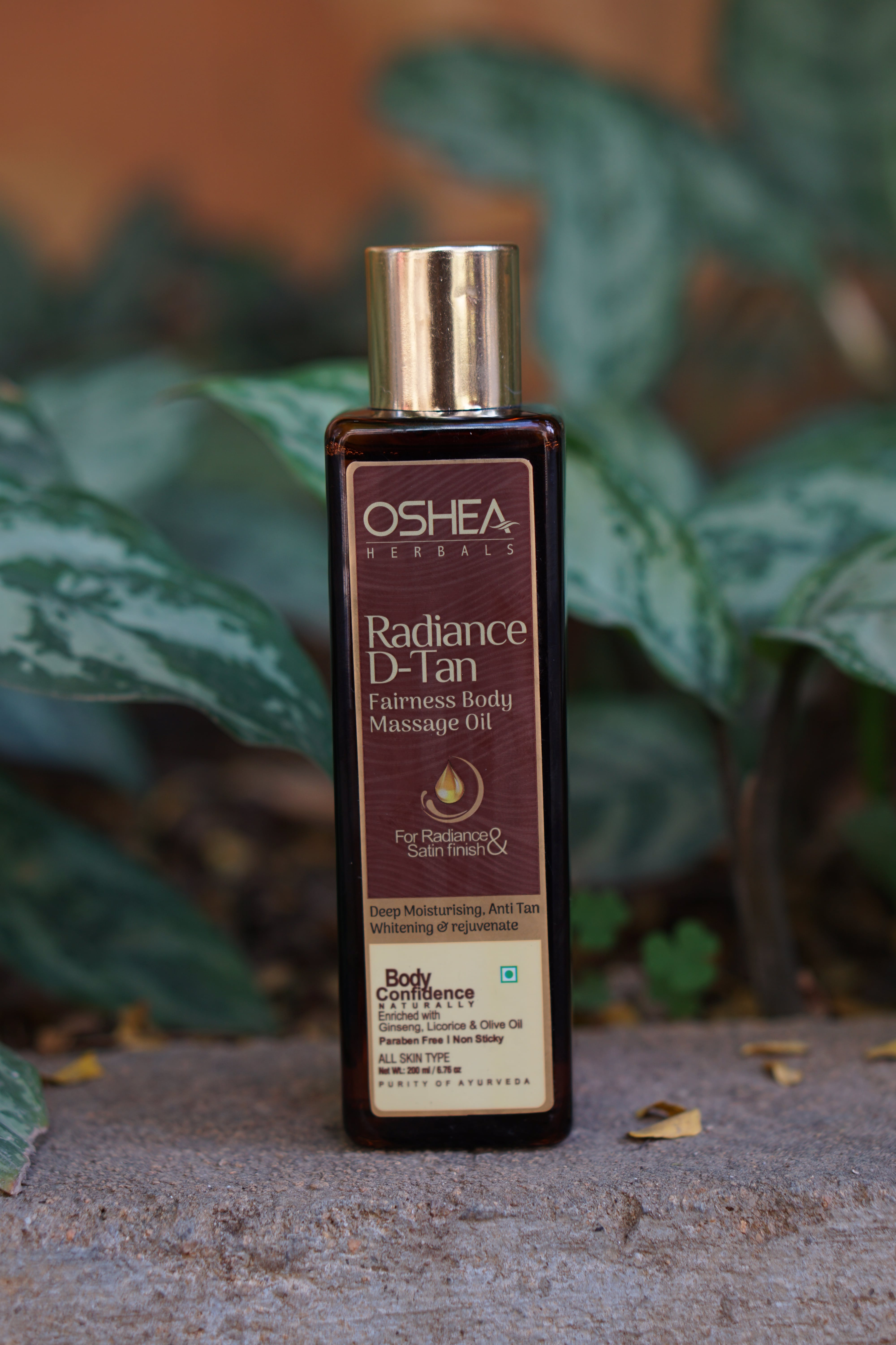 Oshea's Radiance D-Tan Fairness Body Massage Oil Review